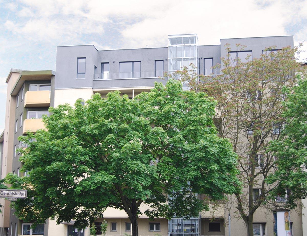 Gerichtstraße Fassade