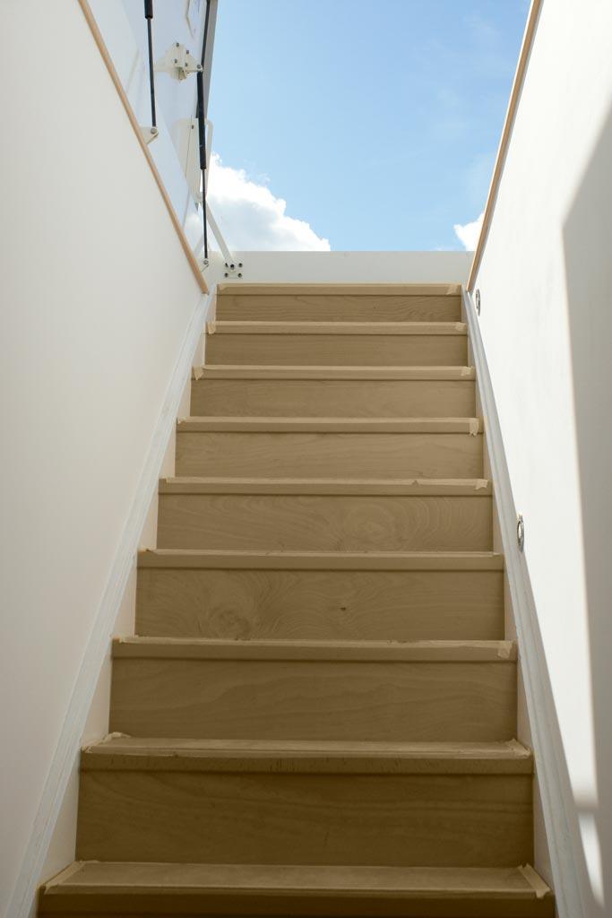 Metzer Straße Aufgang Treppe