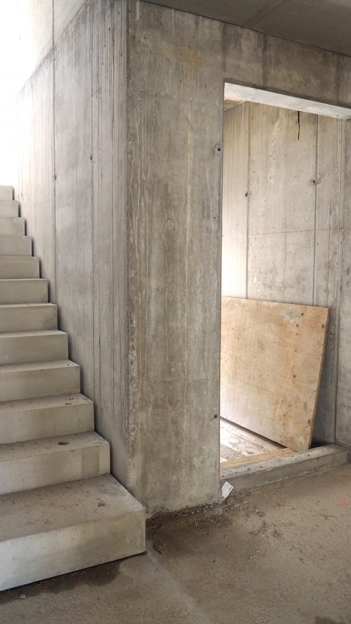 apartmentanlage albert schweitzer baustelle treppenhaus